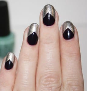 nail-art-argento-e-nera
