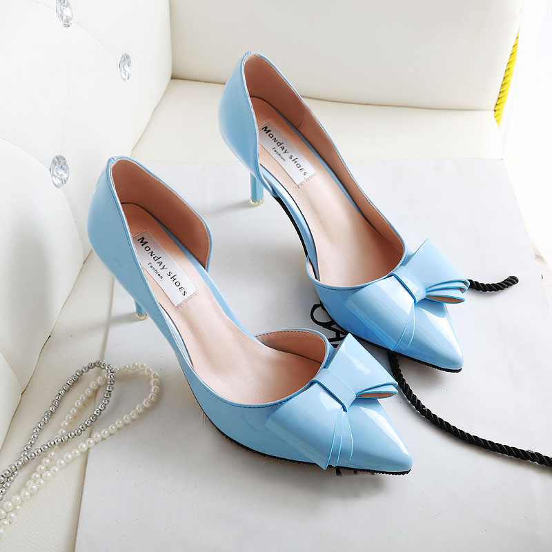 Women-Pointed-Toe-D-Orsay-Med-Heels-Comfortable-Ladies-Party-font-b-Pumps-b-font-2016