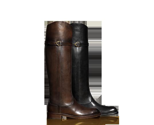 taglia 40 3b97d 37d3d Gucci - Stivali da equitazione - Ad Maiora Semper