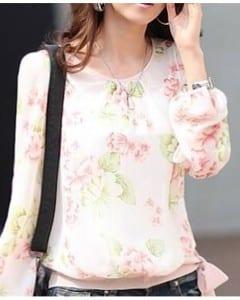 Women-Puff-Long-Sleeve-Floral-Print-T-Shirt-Chiffon-Loose-Tops-JS32325875292-554_01-03-470x588