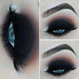 Dark-Black-Smokey-Eyes