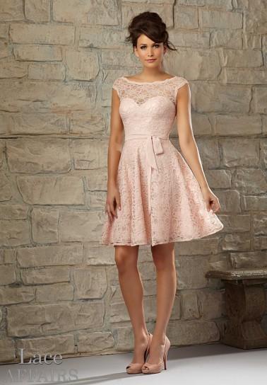 huge selection of 9cbfa 6153d coktail-dress-rosa-cipria - Ad Maiora Semper