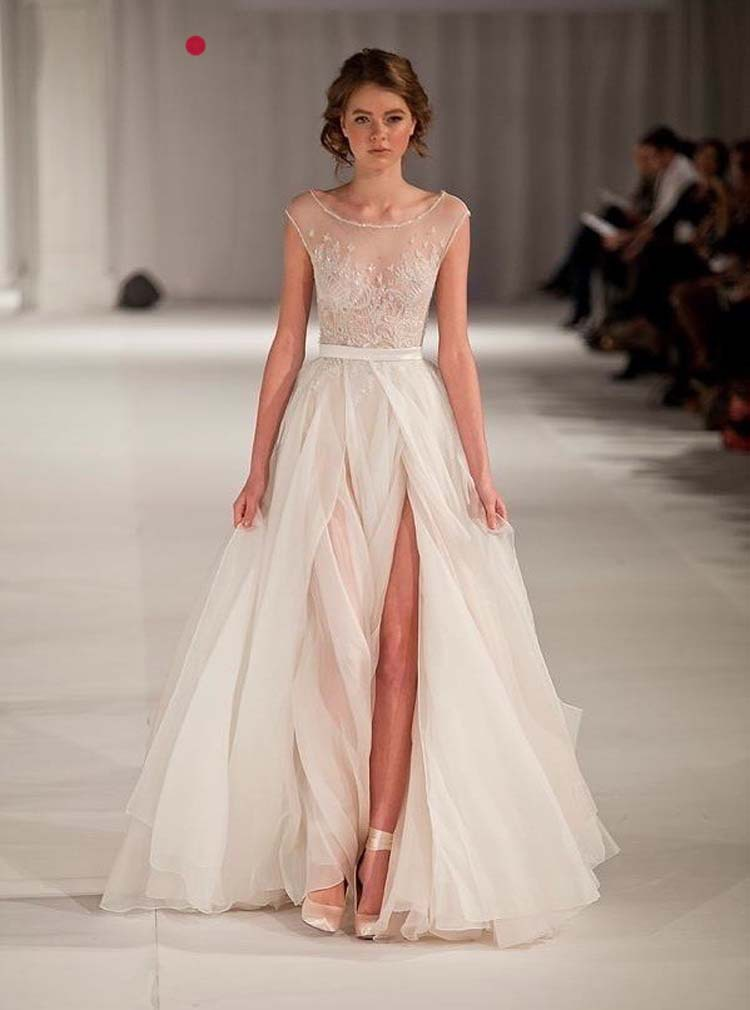 2014-new-arrival-elie-saab-elegant-runway-white-nudetulle-scoop-tank-embroidery-long-strap-evening-fromal